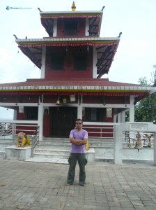 39. Finally at Mauli Kali temple