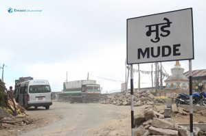 20. Mude, our embarkment point