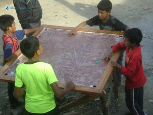 28. Carrom Trails