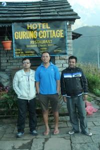 28. Gurung Dai and fellow deerwalkers