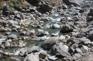 14. Life- like a river, has to flow through obstacles