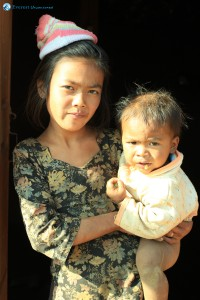 37. True faces of Nepal, cute and innocent