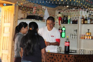 47. Bar tending the ladies!!!