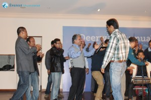 Dancing on Tihar tunes