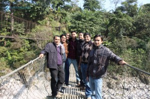 4. Guys on the bridge