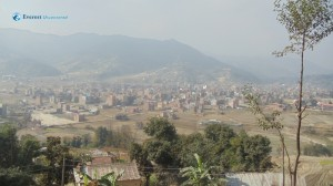 5. Banepa as seen from Sallaghari