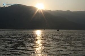 17. Sunset from Phewa Lake