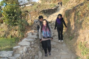 35. Hiking back from the Peak