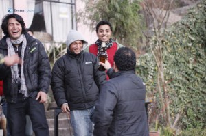 6. Kapil is the happiest man alive