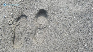 8. I want to leave my footprints on the sands of time ...