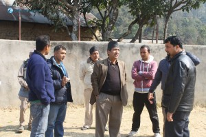 2. Surendra Dai, please come to the front side to snap the picture.