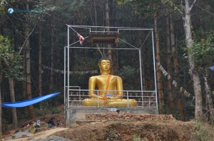36. Statue Of Gautam Buddha At Machhe Narayan Shantiban
