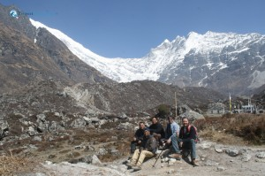 49. The whole crew happy to be in Kyanjin Gompa