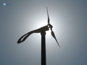 12. A 1400 watt wind turbine