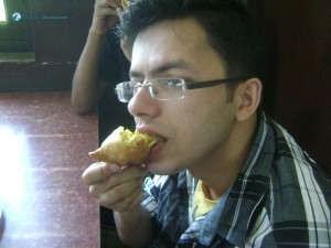 06. Soft bite of Samosa