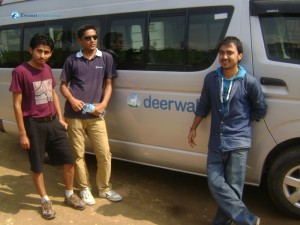 09. We love to Pose with our Van
