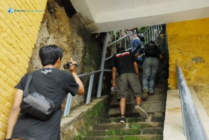 15. A safe way uphill