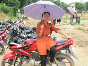 26. Me and my HONDA - oops umbrella