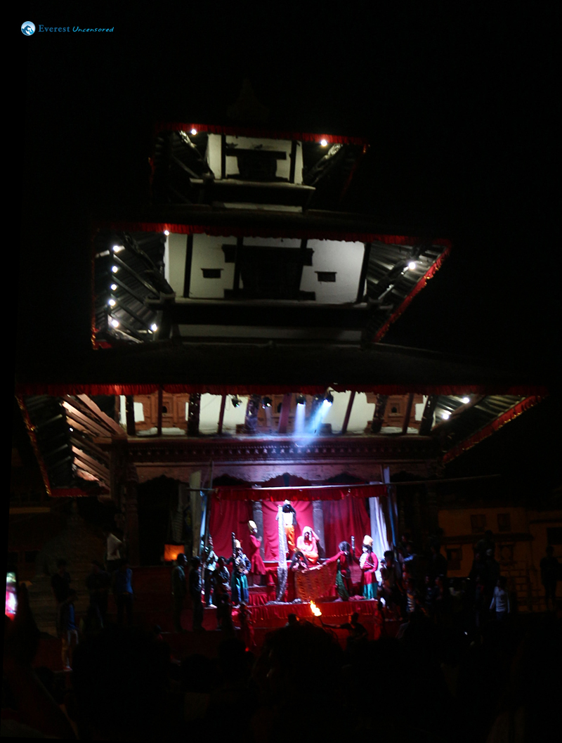 Indra Jatra Under the Lights