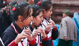 In tune for the Newari New Year