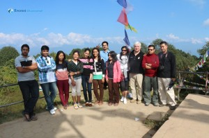35. Group Picture @ Nagarkot Tower