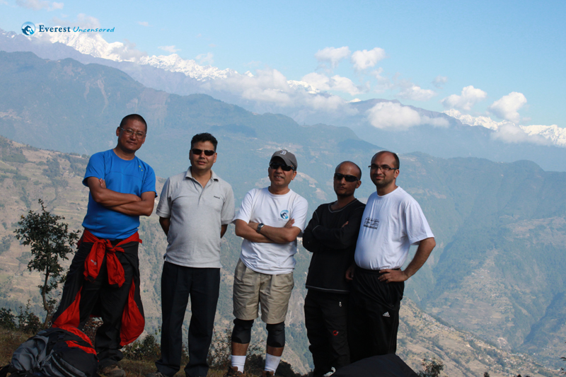 Trekking to Gosaikunda - from Dhunche to Gul Bhanjyang