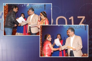 The most analytical minds in Deerwalk: Team of Bibek Dahal and Sunita Singh won the QA Engineers of the Year title