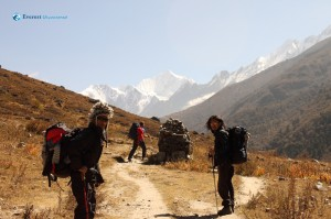 1. On the way to Kyanjin Gompa