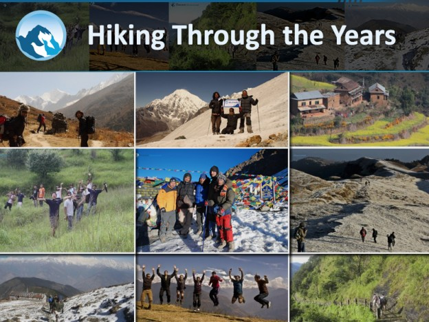 Hiking through the year
