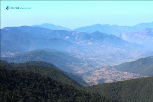 17. Top view from Phulchowki