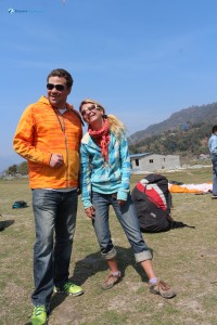 18. Paraglider With his Pilot