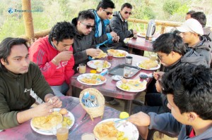 28. Breakfast at Gurung's