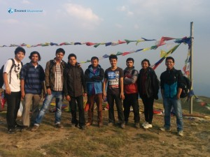 38. Hiking team