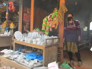 4. Beautiful stone crafts and churpi at Mude
