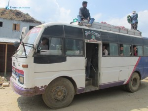 7. Our Ride to Dhunge from Mude
