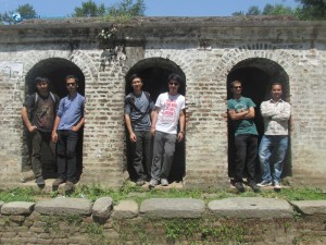 21. Boys learning to pose