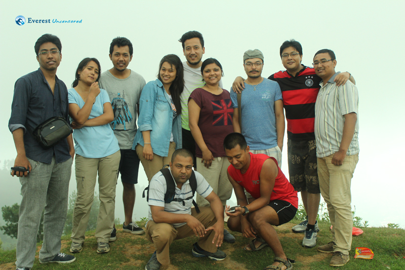 2014 Jun - Deerwalk Squad C Hiking from  Lamatar to Thimi