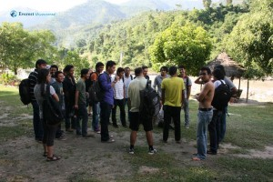 Outing to Royal Beach Camp, Dhading