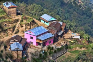5. Typical and Colorful Nepali Village