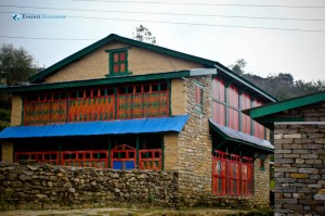 3. A typical house at Gumda Village