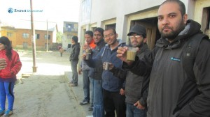 4.Cheers ...we gonna walk whole day