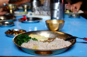 50. One of the best meals during the trek @ Barpak
