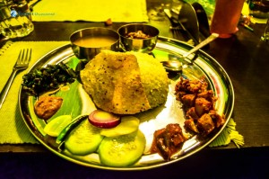 51. Thakali food