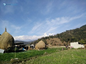 12. Hay Stack Under The Mount