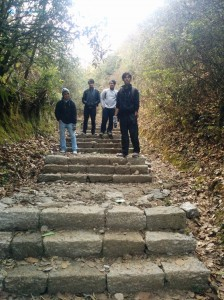 33. Stairway to heaven