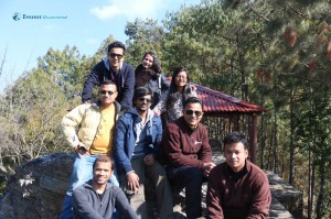 46. Hikers at ramshah chautari
