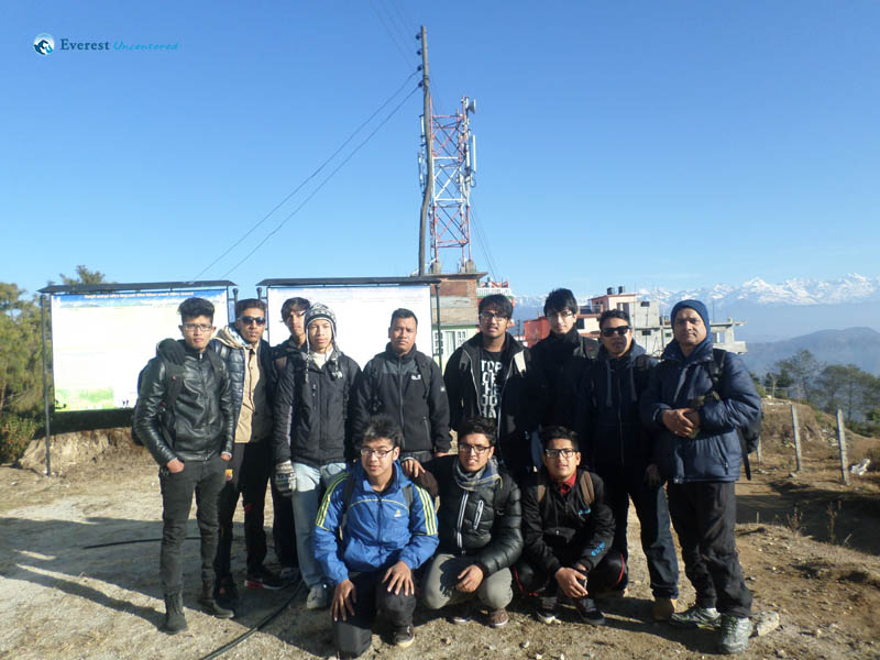 Hiking to Gorkha Durbar