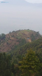 33. The inhabited plateau under the Bhanjyang