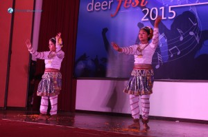 Classical welcome dance-Chandani