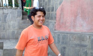 25. Always smiling Umesh dai